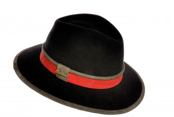 Hutkönig Meisterstück aus dem Playboy · Fashion Edition in Schwarz - Rot