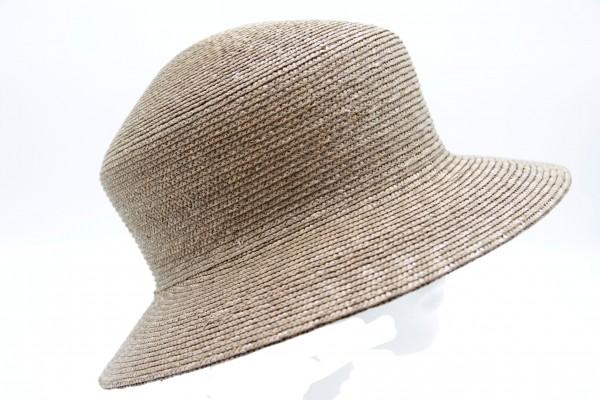 Damenhut von Seeberger in Naturmaterial Modell Astrid